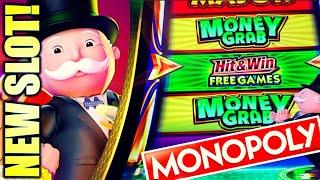 ⋆ Slots ⋆NEW MONOPOLY SLOT!⋆ Slots ⋆ MAKING IT RAIN…TRYING  MONOPOLY MONEY GRAB Slot Machine (SG)