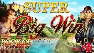 SUPER BIG WIN on Book of Romeo & Julia - Bally Wulff Slot - 1€ BET!