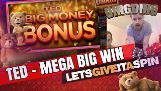 Ted BIG MONEY bonus on massive bet