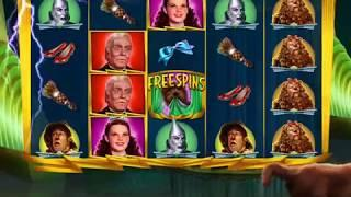 Wizard Of Oz Return The Broomstick Video Slot Casino Game With A