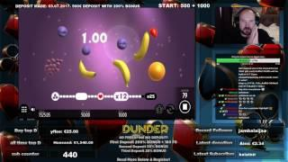 Fruit Warp Gives Super Big Win At Dunder Casino!!