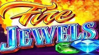 Jackpot Jump Fire Jewels Slot - NICE SESSION - ALL FEATURES!