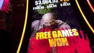 Walking Dead 2 Slot - Live Play with Bonus! BIG WIN!