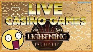 BIG BETS on LIVE TABLE GAMES - Deal or No Deal Live & LIGHTNING ROULETTE + Monopoly Live !
