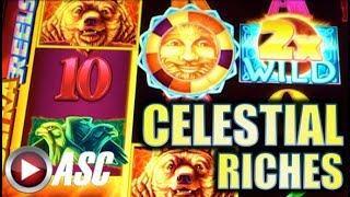 •NEW SLOT! CELESTIAL SUN & MOON RICHES• SURPRISE BIG WIN W/ MYSTICAL MONARCHY Slot Machine Bonus