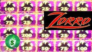 ++NEW Zorro Mighty Cash slot machine, 3 sessions
