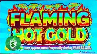 ++NEW  Flaming Hot Gold slot machine