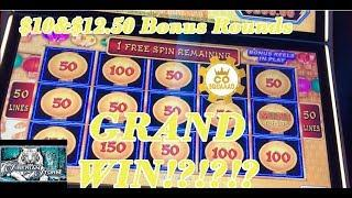 Did I get the Grand WIN!?!?!? Lightning Link and Siberian Storm slots*San Manuel Casino*