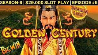 Dragon Link Slot Machine BACK TO BACK Bonus & BIG Win | Season 9 | Episode #5