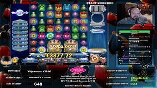 Super Big Win From Reactoonz Slot !!