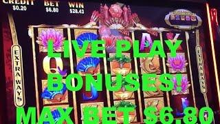 LIVE PLAY and BONUSES on Gold Pays Slot Machine