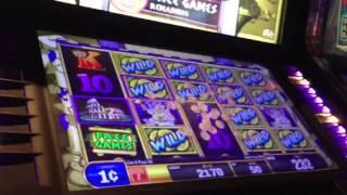 Bacchus Gold-Bally slot machine bonus win