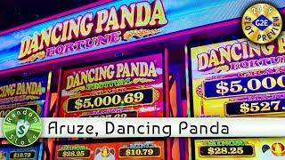 Dancing Panda Festival & Fortune  slot machine preview, Aruze, #G2E2019