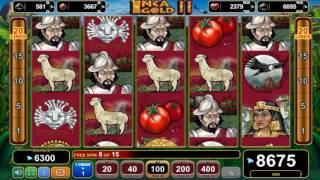 Inca Gold II slot - 12,950 win!