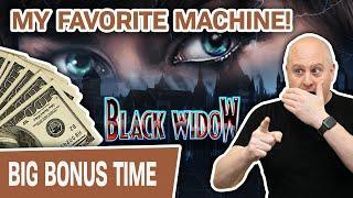 ⋆ Slots ⋆ $75 SPINS on MY VERY FAVORITE SLOT MACHINE!!! ⋆ Slots ⋆ Black Widow JACKPOT