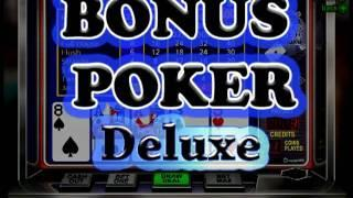 Bonus Poker Deluxe Video at Slots of Vegas