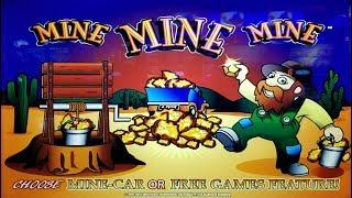 GOOD WIN on MINE MINE MINE + MORE SLOT MACHINE POKIE BONUSES