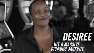 Desiree Wins $134K Jackpot at San Manuel Casino! [Jackpot Stories - Ep.17]