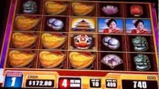 China Moon 2 Slot Machine Bonus 1 of 3 Max Bet 400 Credits