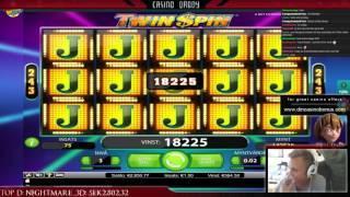 Twin spin - Big win - full screen - netent slot