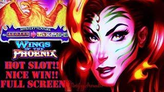 First Attempt! Wings of the Phoenix slot win a very active slot machine at San Manuel Casino