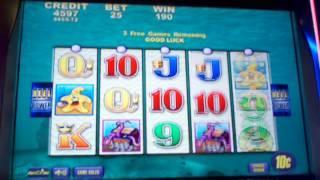 Aristocrat Dime Denom Whales of Cash free spin bonus 3 of 3