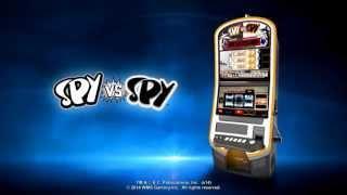Spy vs Spy Slot Machine - Preview this WMS Game