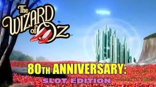 The Wizard of Oz •80th Anniversary • Great Hits Across North America•Scientific Games