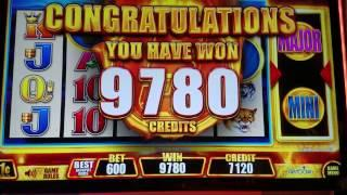 Buffalo Deluxe Slot Machine BONUS $6 Bet !!!! • $• $• Fast Cash Edition•$ •$ •