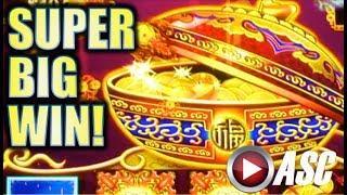 •SUPER BIG WIN!!• DANCING DRUMS BE BANGING! AT BARONA CASINO Slot Machine Bonus