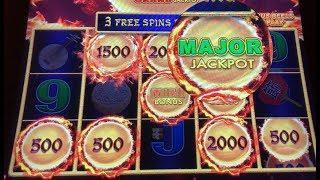 MAJOR JACKPOT & HANDPAY WON ~ Dragon Link Autumn Moon ~ High Limit Bonuses