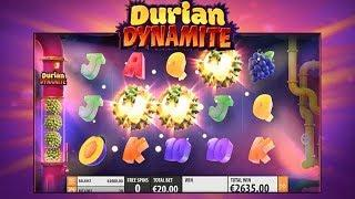 Durian Dynamite Online Slot from Quickspin