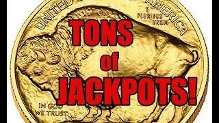 BUFFALO GOLD HANDPAY JACKPOTS ONLY: 6 months of Buffalo Gold Handpays all in one place