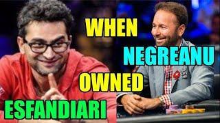 Fool Me Twice? When Negreanu Owned Esfandiari