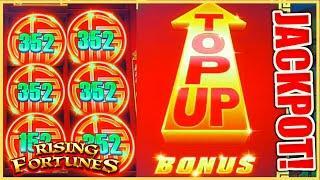 Rising Fortunes Jin Ji Bao Xi HANDPAY JACKPOT ★ Slots ★️HIGH LIMIT $35 SPIN Bonus Round Slot Machine