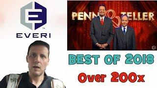 Penn and Teller - Nomination for Game of the Year 2018 • Over 200x win By The Shamus