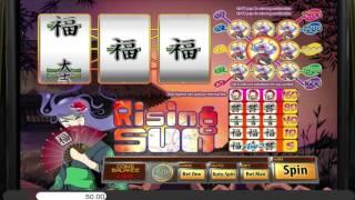 Rising Sun• free slots machine by Saucify preview at Slotozilla.com