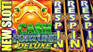 ⋆ Slots ⋆NEW SLOT! RESPIN ACTION!⋆ Slots ⋆ CASH FORTUNE DELUXE (TURTLE EDITION) Slot Machine (Aristo