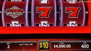 Live ! Jackpot!! Hand Pay •High Limit Slots @ San Manuel Casino [40万円以上の大勝利] [赤富士スロット] カジノ