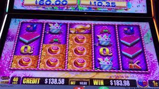 * Big Surprise * SUGAR HITS * Progressive Slot Machine Bonus Win!