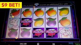 Rich Girl Slot Machine $9 *HIGH LIMIT* Bet Live Play Bonus!
