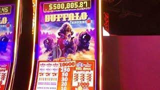 #G2E2016 Aristocrat   NEW Buffalo Thundering 7s slot machine