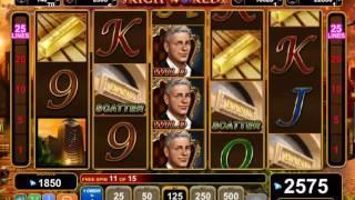 Rich World slots - 3,945 win!