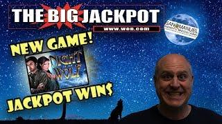 •️ NEW GAME! •️ NIGHT OF THE WOLF JACKPOT WIN$ •
