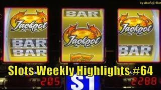 Slots Weekly Highlights #64 For you who are busy• Handpay for Blazin Gems @ San Manuel & Pechanga