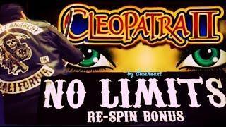 CLEOPATRA II slot machine LIVE PLAY WIN with MORE SLOT BONUS WINS!
