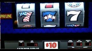 Triple***Stars 3-Coins~Multi-Denomination ($5,$10, $25) Slot Machine  at Caesar's Palace Las Vegas