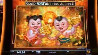 •GOOD FORTUNE HAS ARRIVED !•50 FRIDAY #84•FU DAO LE RICHES/DRAGON'S LAW(STRIKE ZONE)/WW 4 Slot•栗スロ