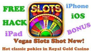 Vegas Slots Shot Royal Gold Cheats ( iPad / iPhone ) Megarama