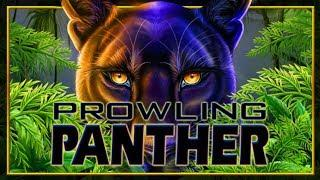 • PROWLING PANTHER • $3.50 BET • BIG WIN • LIVE PLAY •